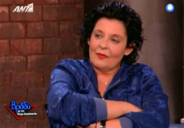 Για όλους και όλα η Λιάνα Κανέλλη στο «Βράδυ» (Video)