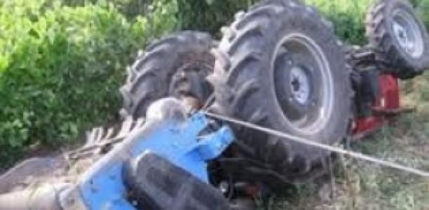 Αγρότης από τον Πυργετό καταπλακώθηκε από το τρακτέρ του!