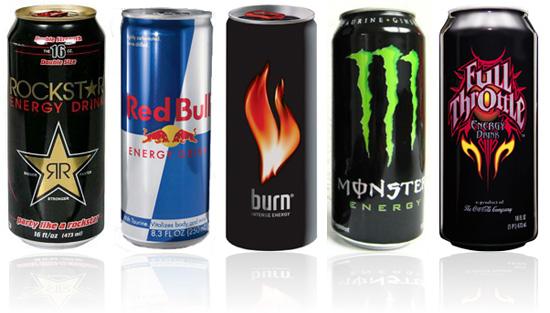 Αποτέλεσμα εικόνας για Ενεργειακά ποτά: