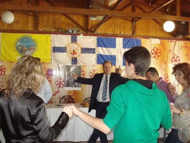 Γιόρτασαν την «επέτειο της 21ης Απριλίου» με τον Πλεύρη στη Λάρισα! (φωτό)
