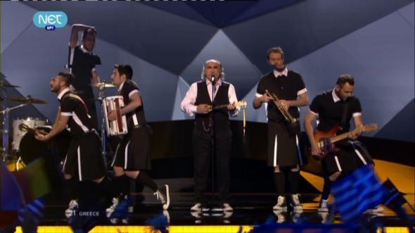 Στην 6η θέση της eurovision ο Αγάθωνας με τους Koza Mostra (video)