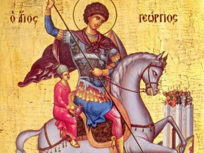 Γιορτάζεται ο προστάτης του Στρατού Ξηράς Άγιος Γεώργιος