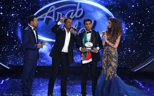 Παλαιστίνιος κέρδισε το Arab Idol