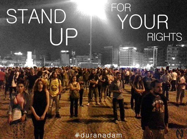 Θεριεύει το κίνημα «Στάσου Ακίνητος» στην Τουρκία