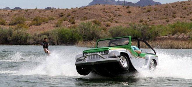 Watercar Panther: Το αμφίβιο αυτοκίνητο που οργώνει στεριά και θάλασσα [βίντεο]