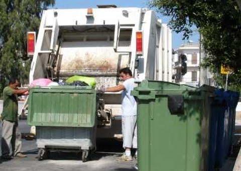 Δεν θα μαζευτούν σκουπίδια  την 28η Οκτωβρίου στο κέντρο της Νάουσας