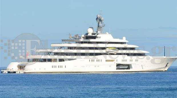 Mαγεύτηκε από την Κρήτη ο Αμπράμοβιτς - Στο Ηράκλειο η χλιδάτη θαλαμηγός του!