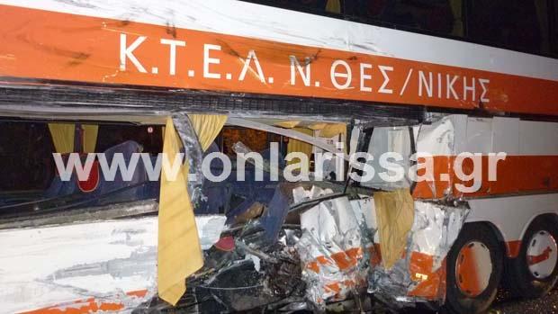 diaforetiko.gr : troxaio tebi 2 Ένας νεκρός και 13 τραυματίες από το τροχαίο στα Τέμπη