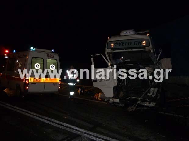 diaforetiko.gr : troxaio tebi 7 Ένας νεκρός και 13 τραυματίες από το τροχαίο στα Τέμπη
