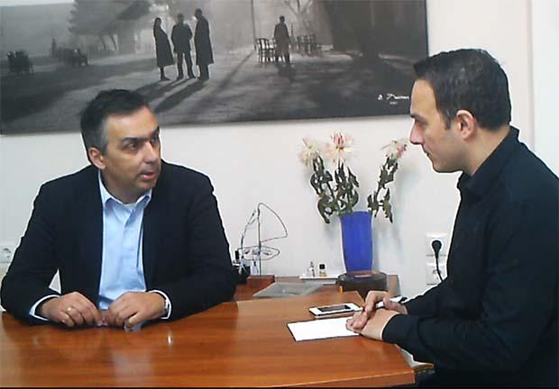 """Διαμάντος: """"με συμμετοχική δημοκρατία θα διοικήσω το δήμο Λαρισαίων"""" (video)"""