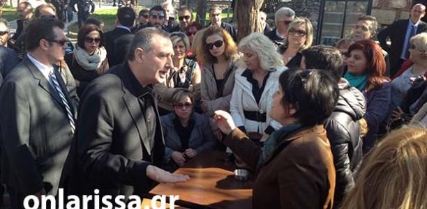 Έρχονται απολύσεις διαθέσιμων, παραδέχθηκε από τη Λάρισα ο Μιχελάκης (ΦΩΤΟ + VIDEO)