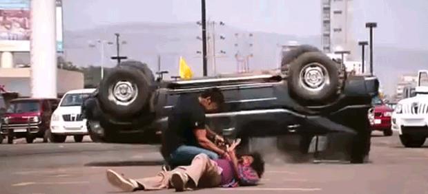 Η πιο  εξωφρενική σκηνή δράσης σε ταινία