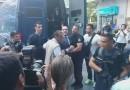 Υπό δρακόντεια μέτρα ασφαλείας έφτασε στο ΔΩΛ ο Π. Ηλιόπουλος