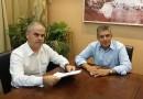 Στη Λάρισα ο αναπληρωτής υπουργός Περιβάλλοντος δείχνοντας πολιτική βούληση για τον Αχελώο