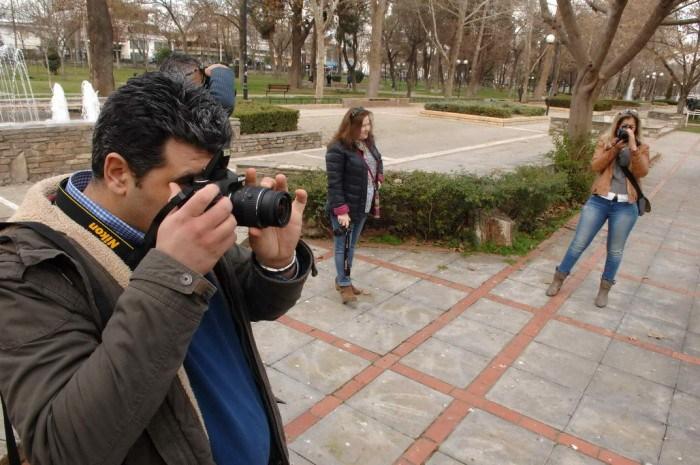 Μαθήματα φωτογραφίας με τον Αποστόλη Ντόμαλη στον «Χορίαμβο»