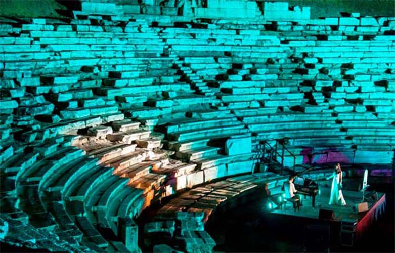 Επισκέψιμο από αύριο Παρασκευή το αρχαίο θέατρο της Λάρισας!