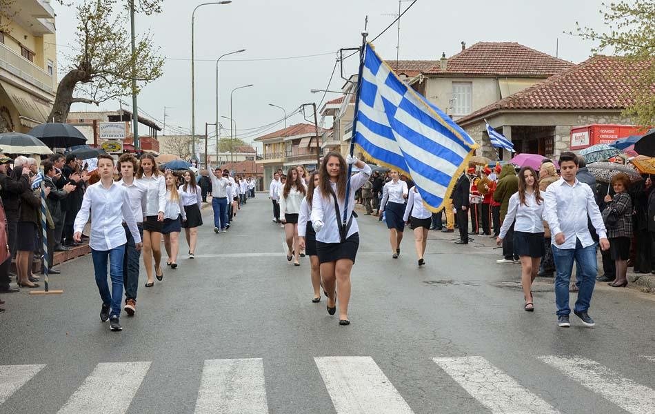 Ο εορτασμός της Εθνικής Επετείου στη Νίκαια