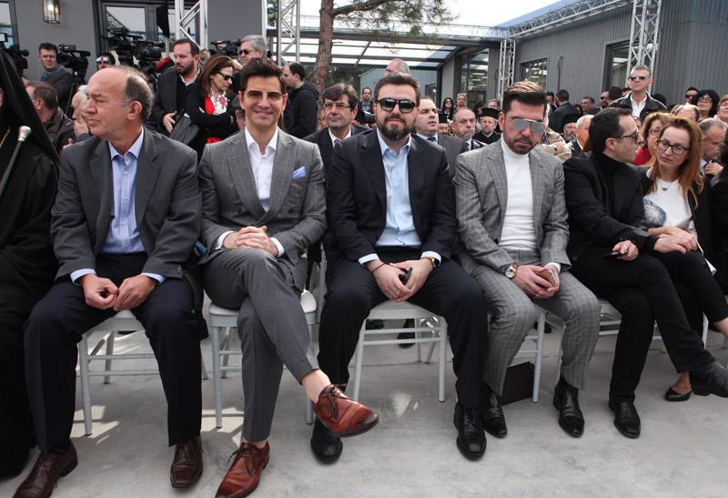 Φωτογραφίες: 'Οταν ο Ρουβάς συνάντησε τον Πρόεδρο της Δημοκρατίας