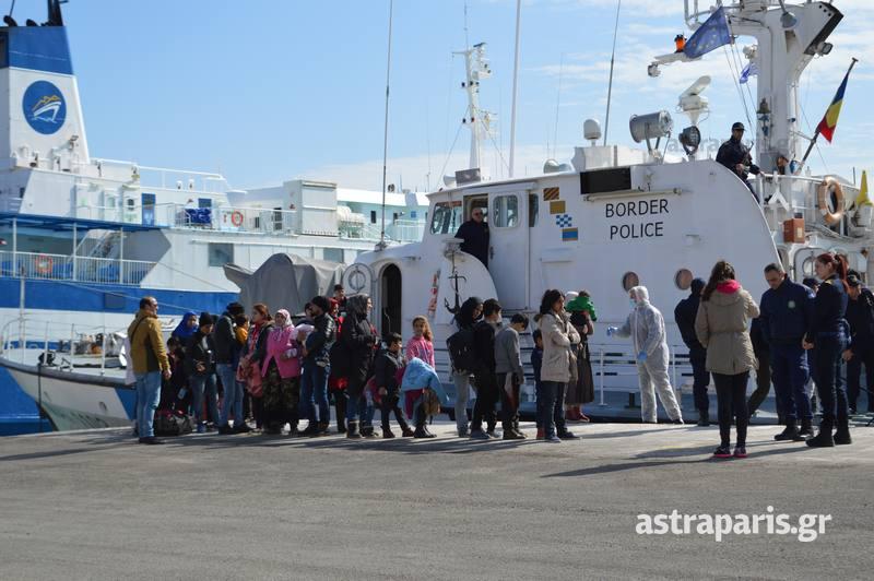 Χίος: Μέσα σε λίγες ώρες έφτασαν 145 πρόσφυγες και μετανάστες