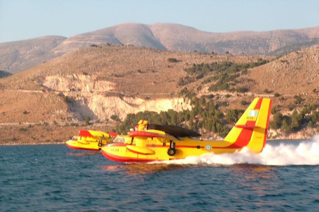 Βλάβη εν πτήσει σε πυροσβεστικό αεροσκάφος CL-215