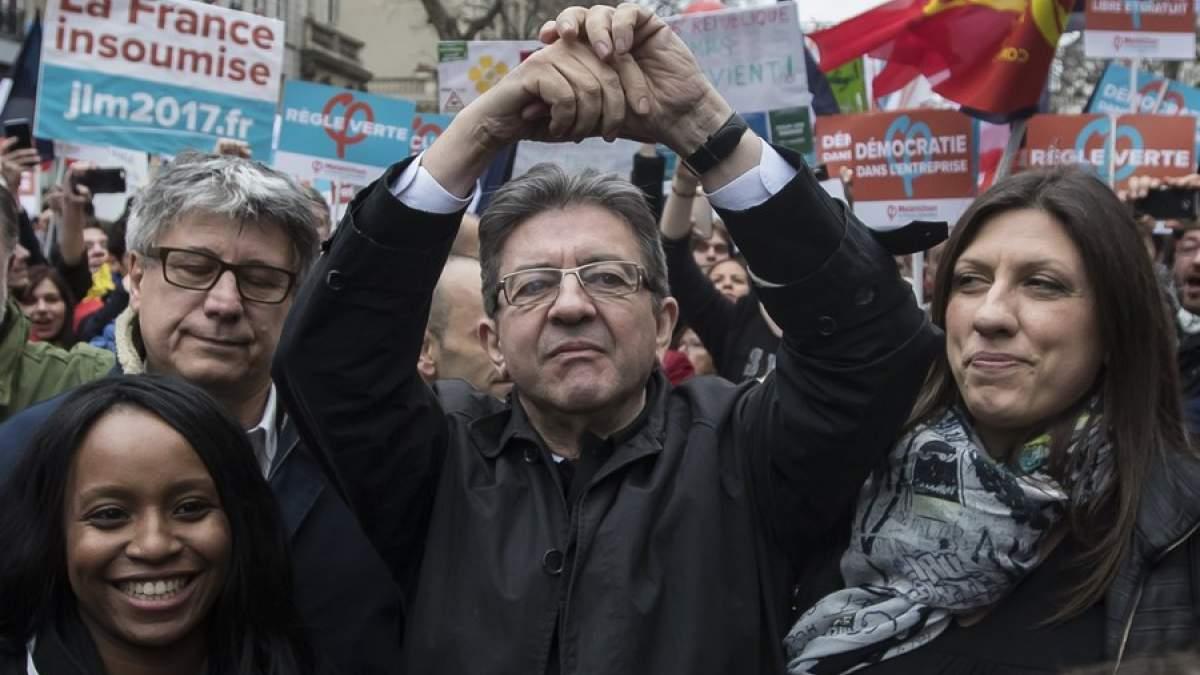 Γαλλία: Η Ζωή Κωνσταντοπούλου αγκαζέ με τον Μελανσόν