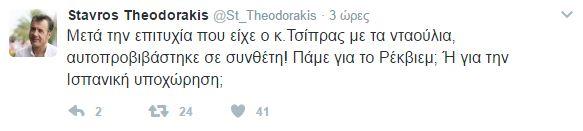 Θεοδωράκης για Τσίπρα: Μετά την επιτυχία με τα νταούλια, αυτοπροβιβάστηκε σε συνθέτη