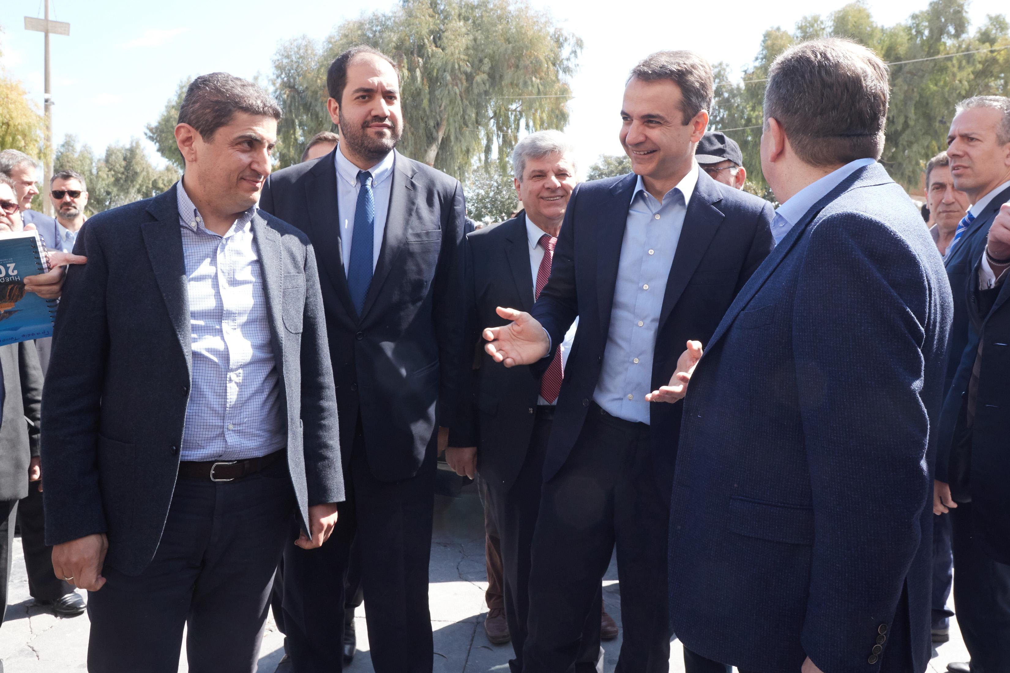 Ο Μητσοτάκης στην Κρήτη: «Με κάθε τρόπο βγες μπροστά και κάμε ό,τι πρέπει, να διώξεις την Αριστερά αυριανέ ηγέτη»