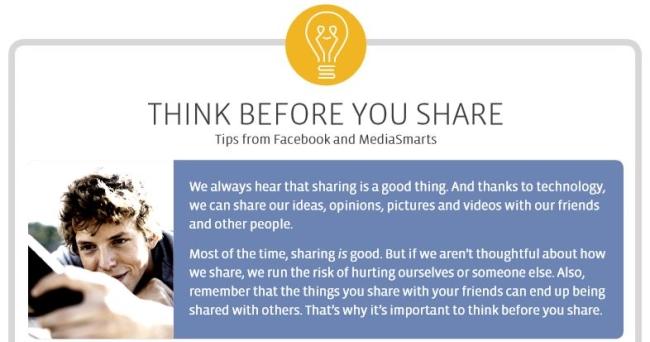 «Σκεφτείτε πριν μοιραστείτε»: Νέα πρωτοβουλία από Facebook και Ελληνικό Κέντρο Ασφαλούς Διαδικτύου