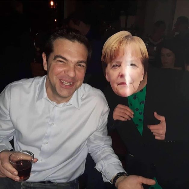 Φωτογραφία: Όταν ο Αλέξης Τσίπρας συνάντησε... την Άνγκελα Μέρκελ