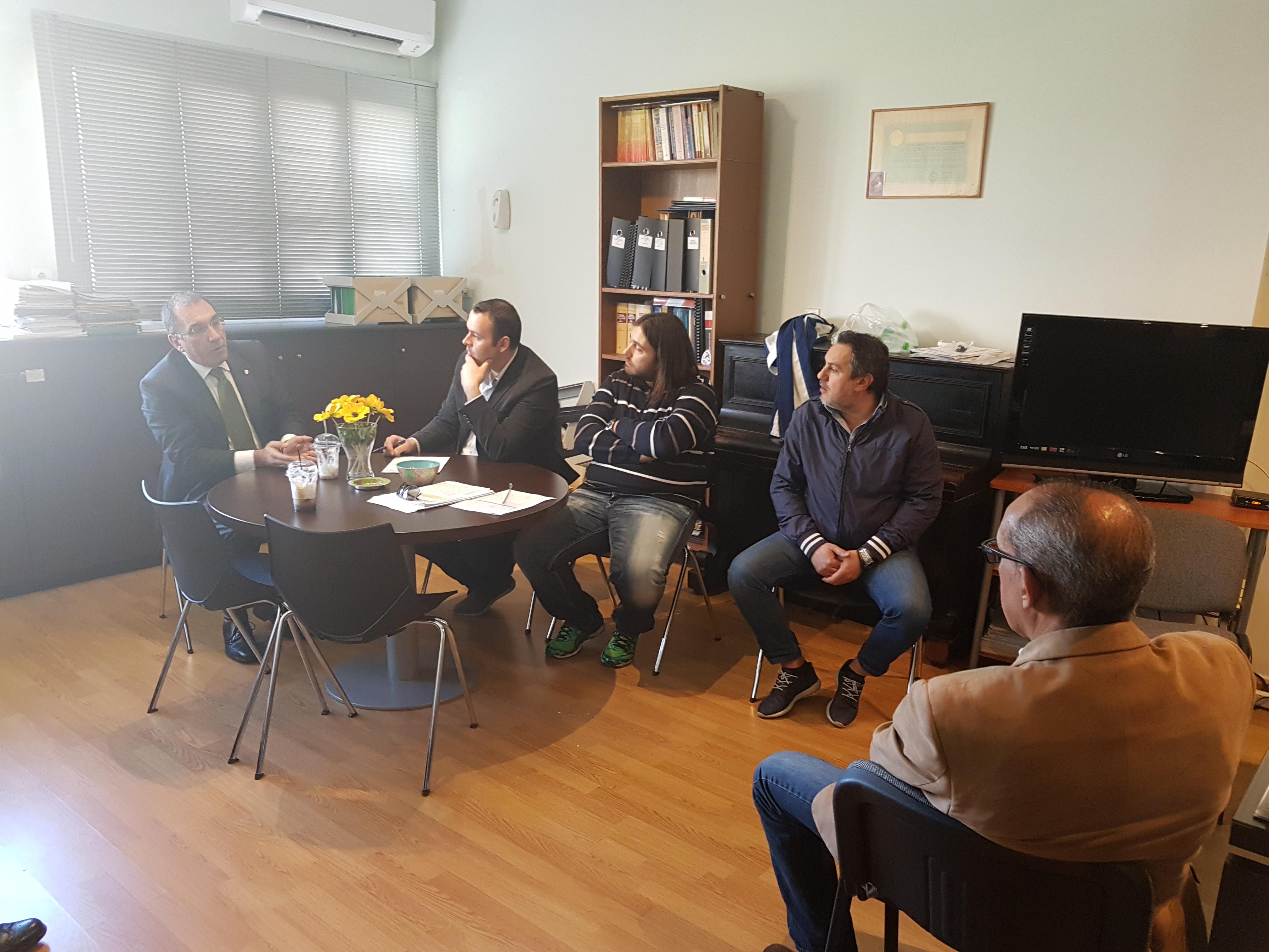 Φωτογραφίες: Επίσκεψη του Δημήτρη Καμμένου στις φυλακές Κορυδαλλού