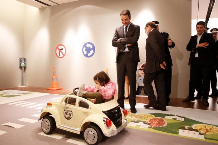 Μητσοτάκης: «Πολύ ψηλά στις πολιτικές μας προτεραιότητες το ζήτημα της οδικής ασφάλειας»