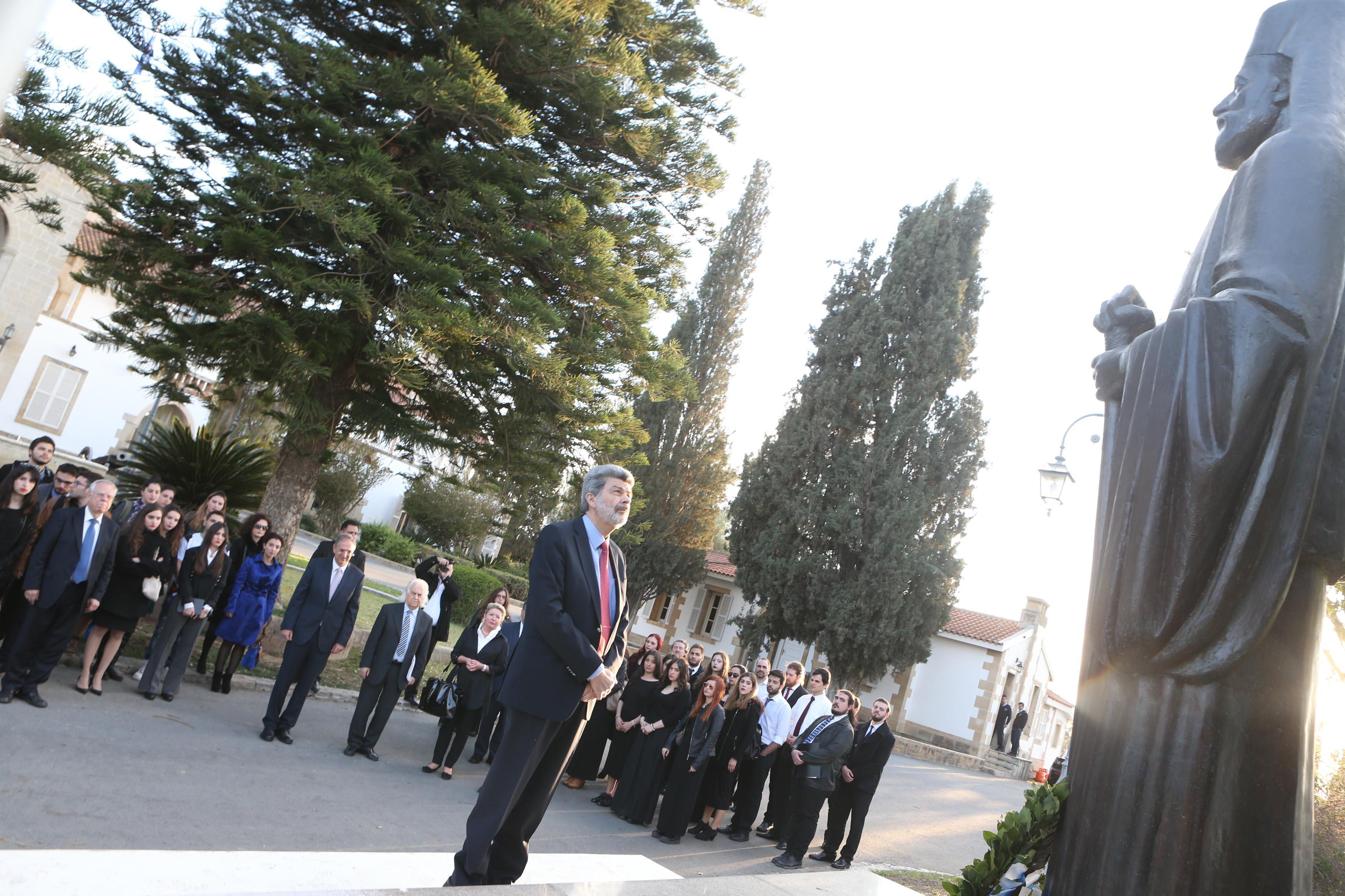 Αναστασιάδης: Ενημέρωση εφ' όλης της ύλης για το Κυπριακό στους φοιτητές του Πανεπιστημίου Αθηνών