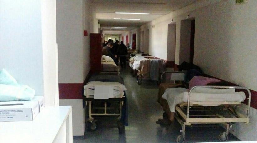 Ευαγγελισμός: Εικόνες ντροπής στην Ψυχιατρική κλινική - Σε ράντζα 28 από τους 48 ασθενείς