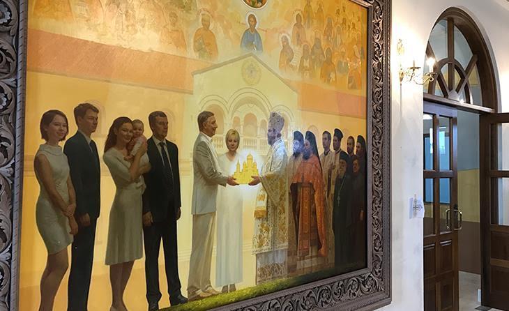 Λευκορώσος επιχειρηματίας έγινε «αγιογραφία» σε εκκλησία στην Κύπρο