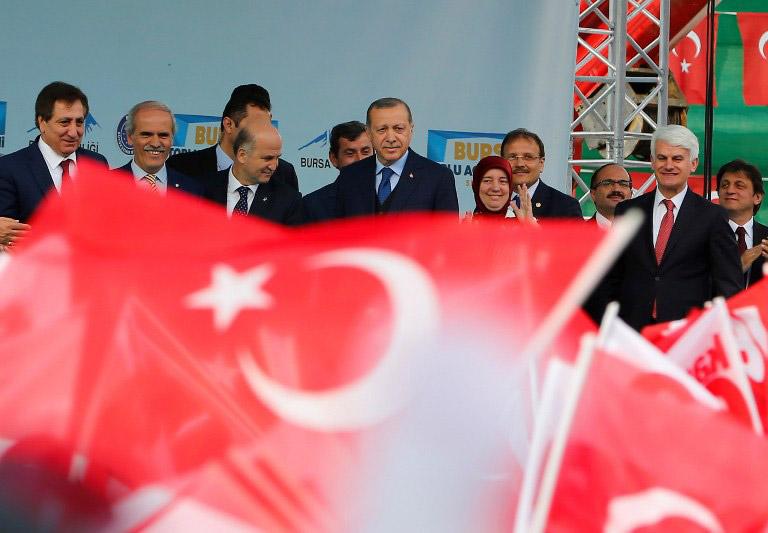 Παραλήρημα Ερντογάν: Εμείς ήμασταν που ρίξαμε τους Έλληνες στη θάλασσα