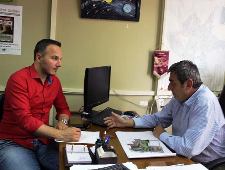 Νταής: Έρχονται μειώσεις στα δημοτικά τέλη για τους Λαρισαίους επαγγελματίες