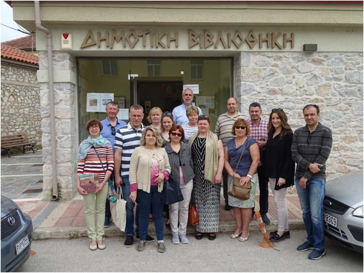 Αντιπροσωπεία από την Εσθονία επισκέφθηκαν την Ελασσόνα στο πλαίσιο του Leader