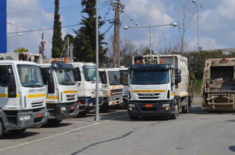 Υπό κατάληψη το αμαξοστάσιο του Δήμου – Δεν γίνεται αποκομιδή σκουπιδιών