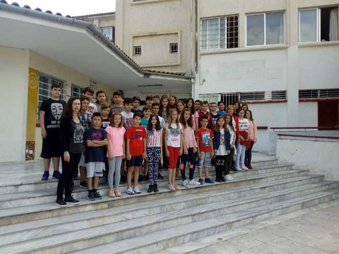 Επίσκεψη γνωριμίας στο 9ο Γυμνάσιο από τελειόφοιτους μαθητές δημοτικού