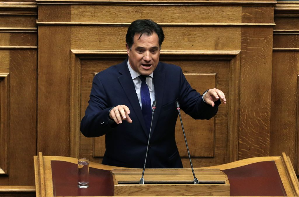 Γεωργιάδης: Είστε τεράστιοι πολιτικοί απατεώνες