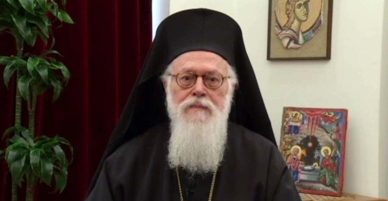 Τη βαθύτατη οδύνη του για τον χαμό δεκάδων ανθρώπων εξέφρασε ο Αρχιεπίσκοπος Αναστάσιος