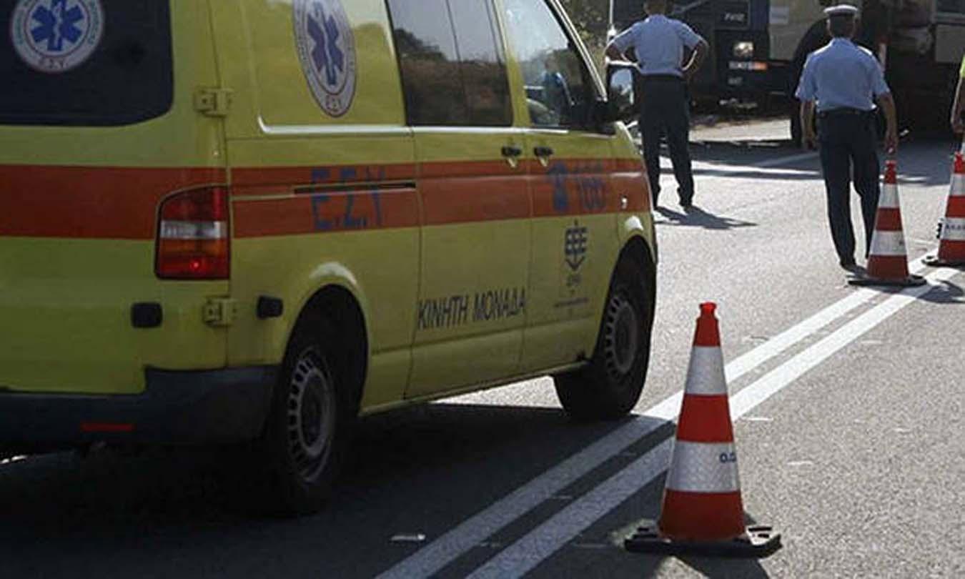 Λάρισα: Τροχαίο στη Βόλου με 4 αυτοκίνητα
