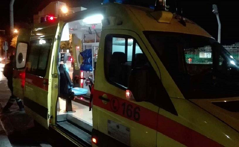 Παράσυρση γυναίκας στον Τύρναβο – Σε σοβαρή κατάσταση στο Πανεπιστημιακό Νοσοκομείο