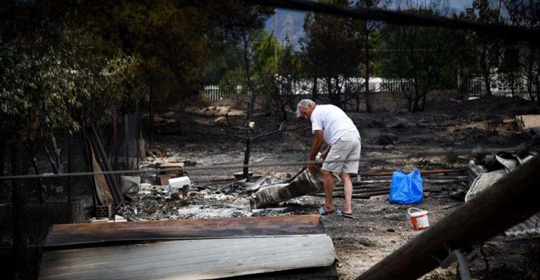 Χάος στα καμμένα - Μακραίνει ο κατάλογος των θυμάτων: 77 οι νεκροί, 187 οι τραυματίες, δεκάδες οι αγνοούμενοι