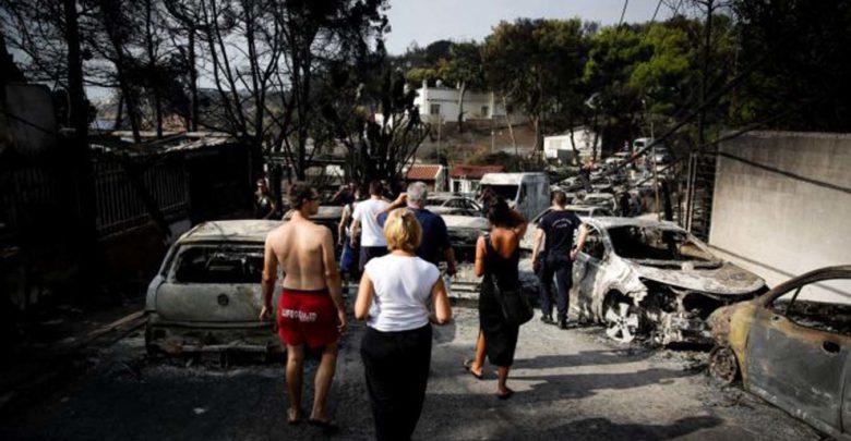 Ερυθρός Σταυρός : Λογαριασμός για τους πληγέντες της Αττικής