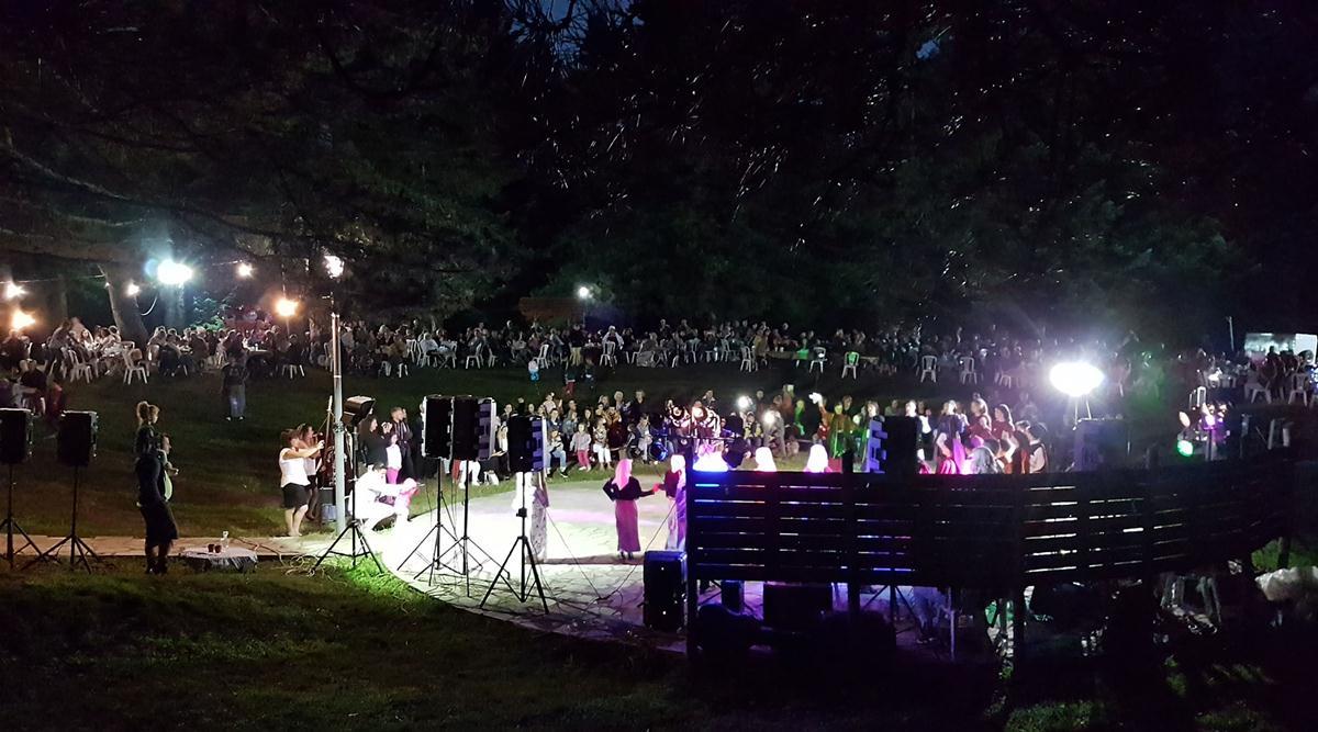 Πλήθος κόσμου στο καλοκαιρινό αντάμωμα των Καλλιπευκιωτών (φωτό)