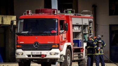 Θεσσαλονίκη: Υπό έλεγχο η πυρκαγιά σε εταιρεία ανακύκλωσης στη Σίνδο