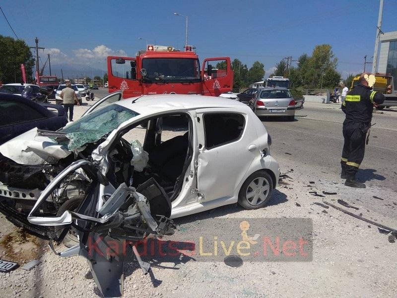 trox 1 - Τραγωδία έξω από την Καρδίτσα: Νεκρός 42χρονος σε μετωπική σύγκρουση αυτοκινήτων(ΦΩΤΟ) - τροχαίο, συγκρουση, Καρδιτσα