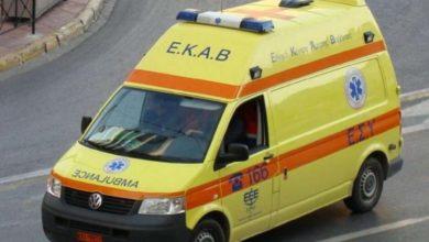 Στο Νοσοκομείο δύο τραυματίες από τροχαίο ατύχημα στον Βόλο