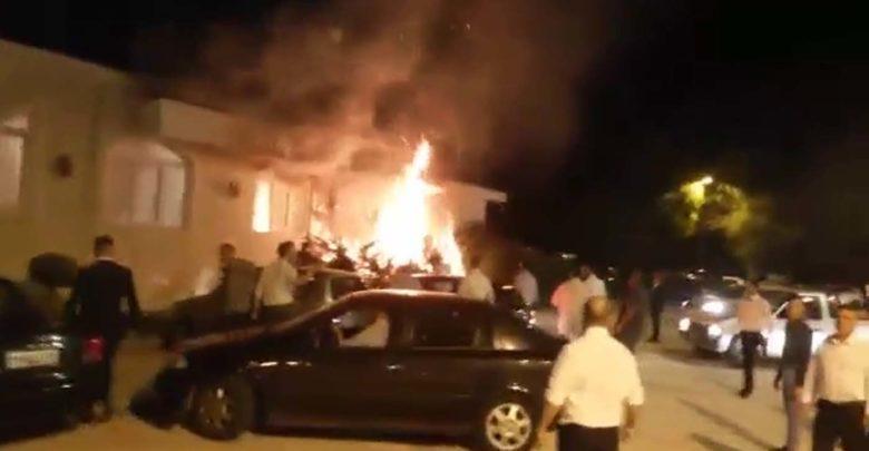 Βίντεο ντοκουμέντο: Φωτιά παραλίγο να χαλάσει γαμήλιο γλέντι έξω από τη Λάρισα